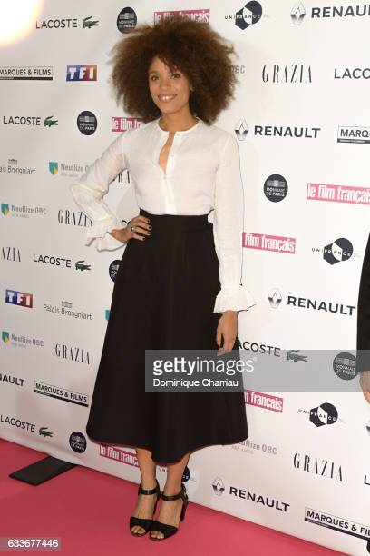 Stefi Celma attends the 'Trophees Du Film Francais' 24th Ceremony at Palais Brongniart on February 2 2017 in Paris France