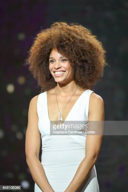 Stefi Celma during the Cesar Film Awards 2017 ceremony at Salle Pleyel on February 24 2017 in Paris France