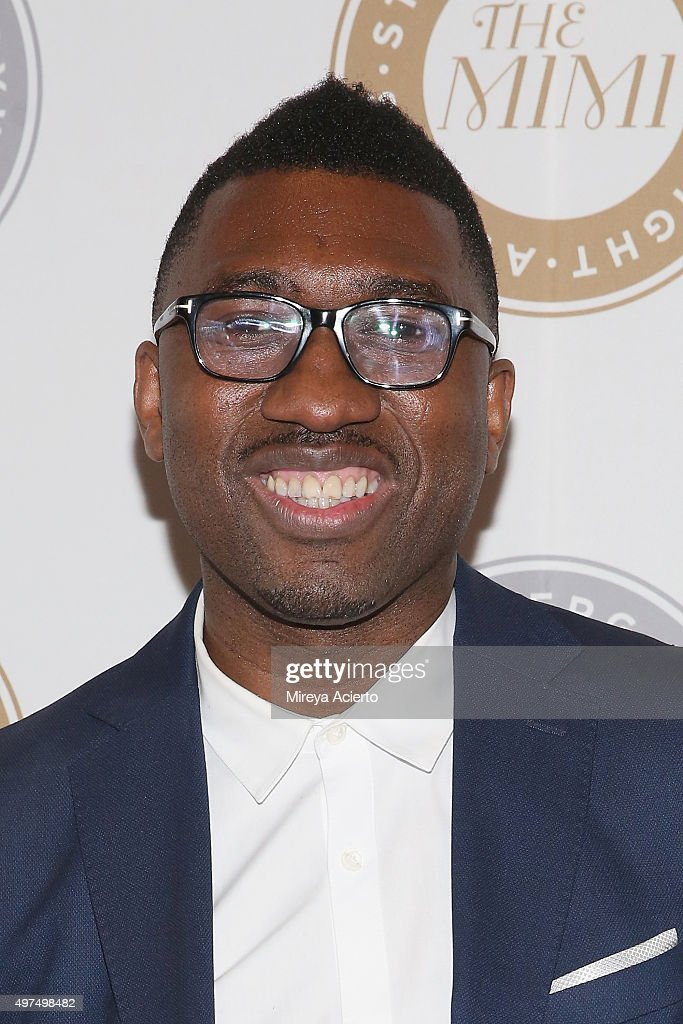 Steinberg Playwright Awards advisory committee, <a gi-track='captionPersonalityLinkClicked' href=/galleries/search?phrase=Kwame+Kwei-Armah&family=editorial&specificpeople=2194059 ng-click='$event.stopPropagation()'>Kwame Kwei-Armah</a> attends the 2015 Steinberg Playwright Awards at Lincoln Center Theater on November 16, 2015 in New York City.