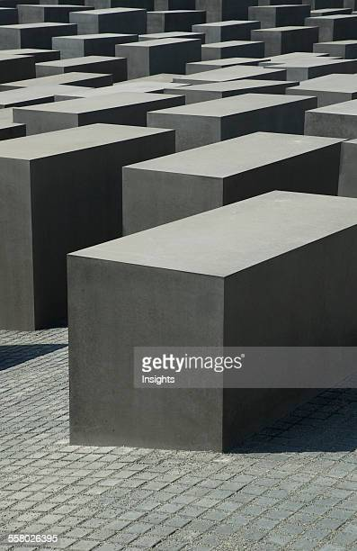 Stelae Of The Memorial To The Murdered Jews Of Europe Berlin Germany