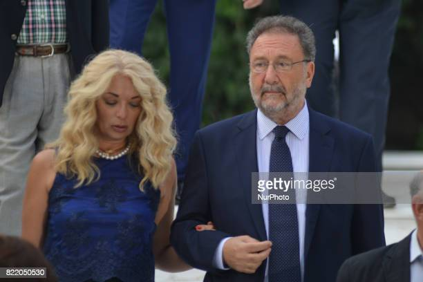 Stelios Pitsiorlas deputy Minister of Economy on the occasion of the 43rd anniversary of restoration of Democracy at the Presidential Palace in...