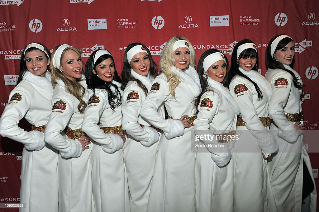 Stella Artois brand ambassadors attend the Day One Party during the 2013 Sundance Film Festival at Legacy Lodge on January 17, 2013 in Park City, Utah.