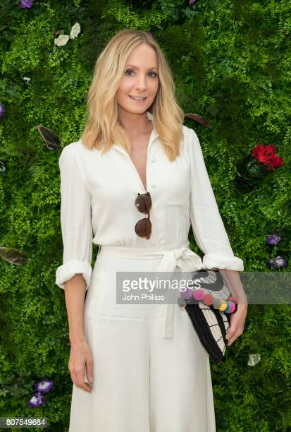 Stella Artois hosts Joanne Froggatt at The Championships Wimbledon as official beer of the tournament at Wimbledon on July 4 2017 in London England