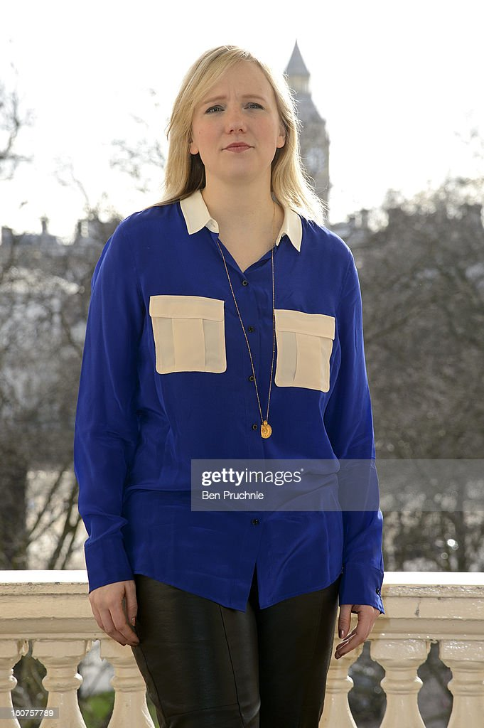 Stella Creasy attends a photocall to promote One Billion Rising, a global movement aiming to end violence towards women at ICA on February 5, 2013 in London, England.