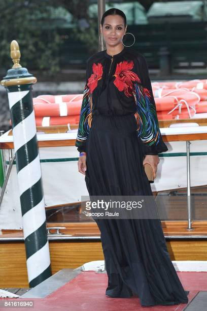 Stella Jean is seen during the 74 Venice Film Festival on September 1 2017 in Venice Italy