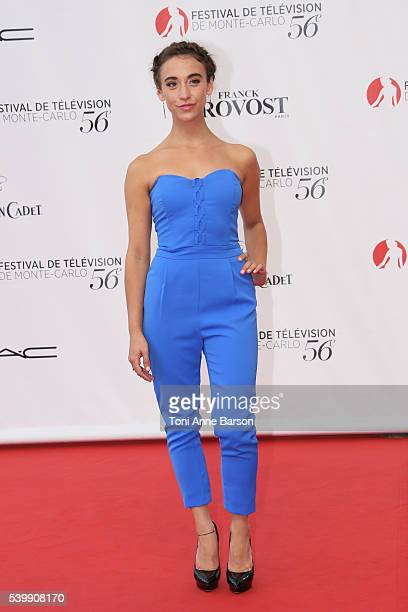 Stella Maeve arrives at the 56th Monte Carlo TV Festival Opening Ceremony at the Grimaldi Forum on June 12 2016 in MonteCarlo Monaco