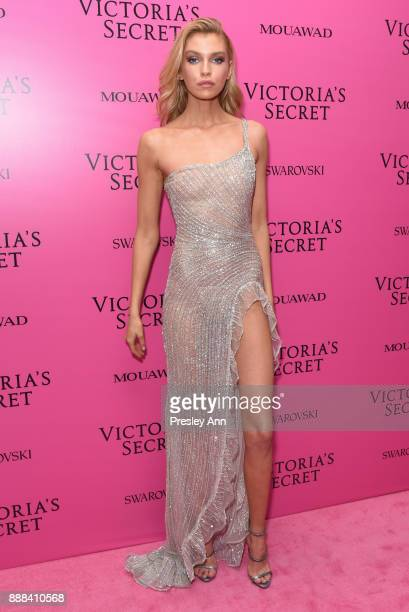 Stella Maxwell attends 2017 Victoria's Secret Fashion Show In Shanghai After Party at MercedesBenz Arena on November 20 2017 in Shanghai China