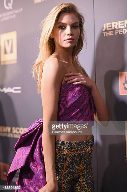 Stella Maxwell attends 'Jeremy Scott The People's Designer' New York Premiere at The Paris Theatre on September 15 2015 in New York City