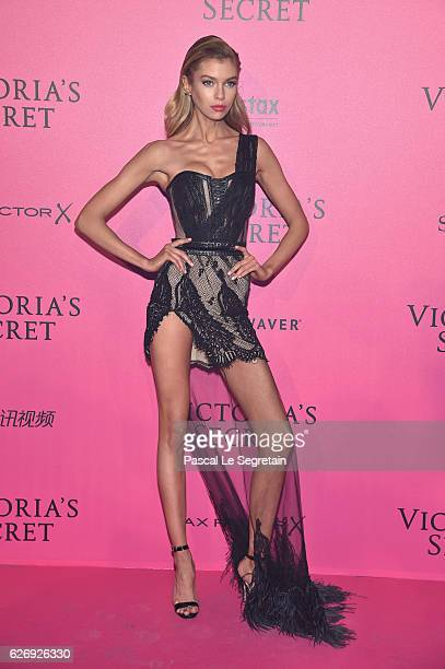 Stella Maxwell attends the 2016 Victoria's Secret Fashion Show after party on November 30 2016 in Paris France