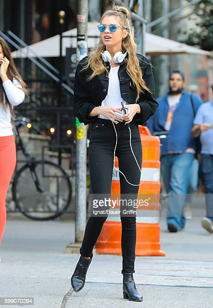 Stella Maxwell is seen on September 03 2016 in New York City