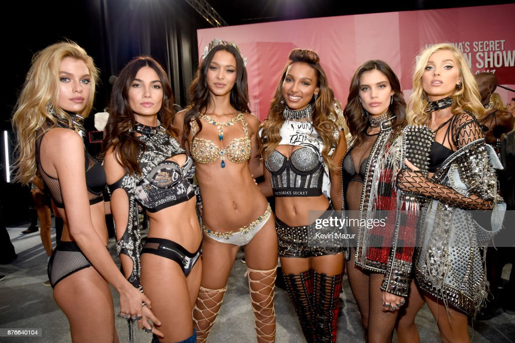 Backstage At Victoria's Secret Show In Shanghai