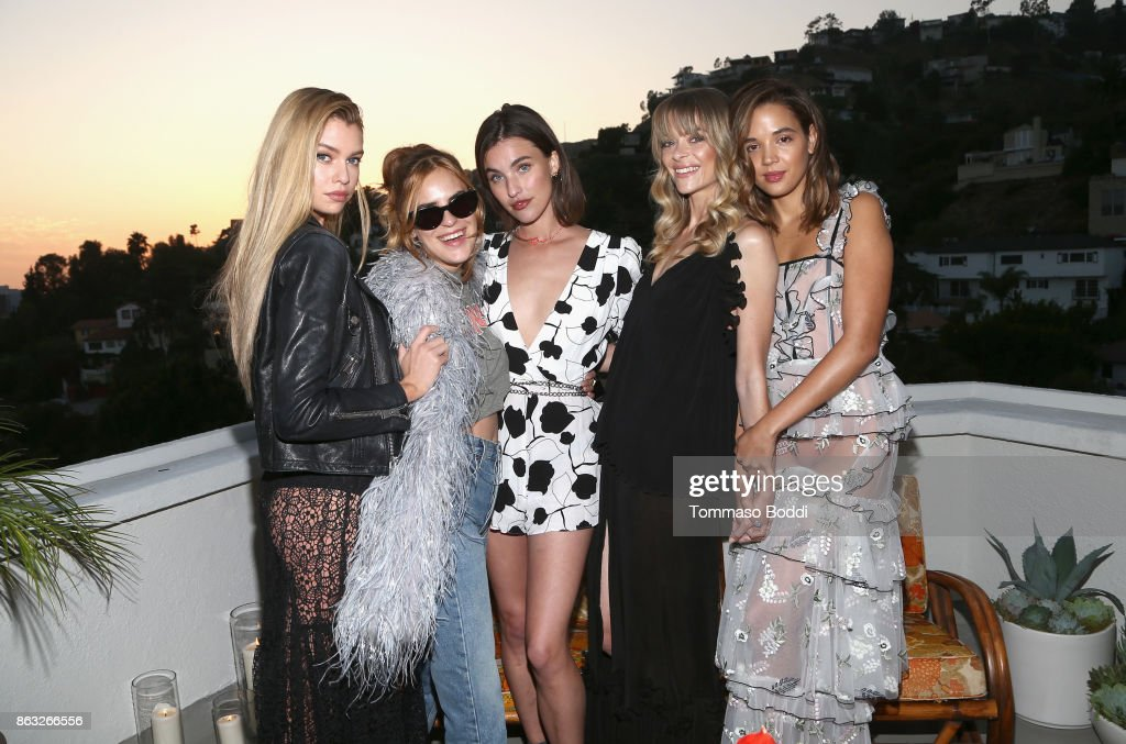 Alice McCall SS18 Launch Event With Campaign Face Stella Maxwell