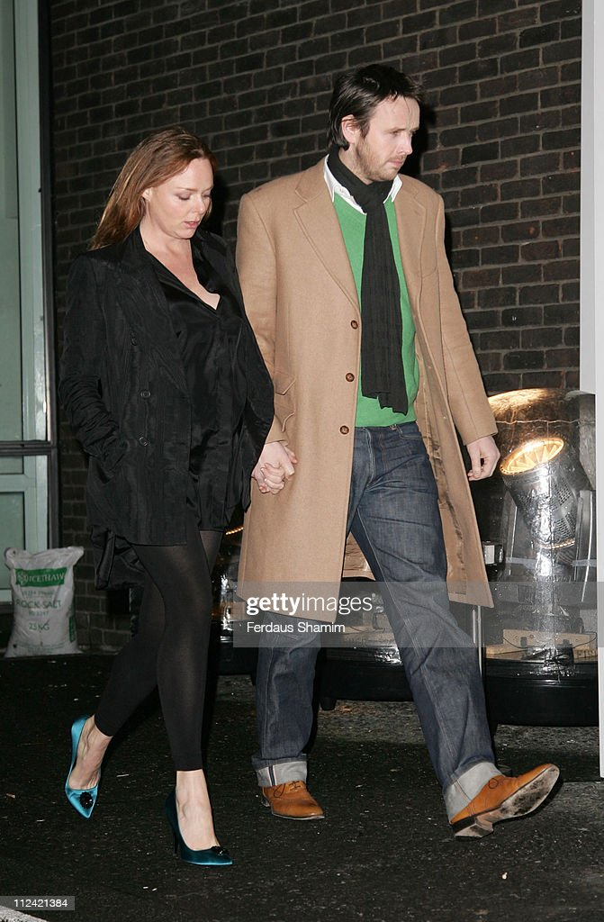 Stella McCartney and Alasdhair Willis during TAG Heuer Strength & Beauty Exhibition - Opening Night Party - Outside Arrivals at Royal College of Art in London, United Kingdom.