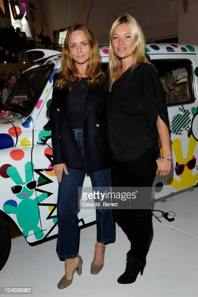 Stella McCartney and Kate Moss attend the Stella McCartney Kids Party celebrating her SS12 Kids Collection on September 7 2011 in London Engalnd