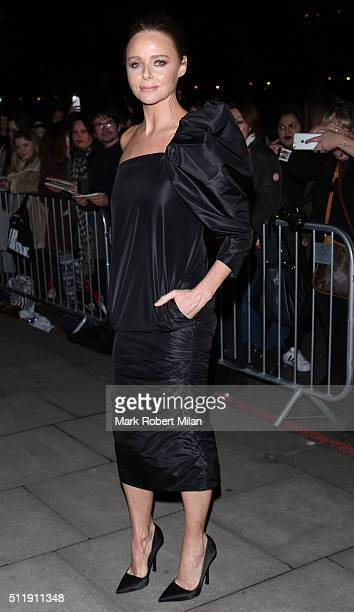 Stella McCartney attending the Elle Style awards on February 23 2016 in London England