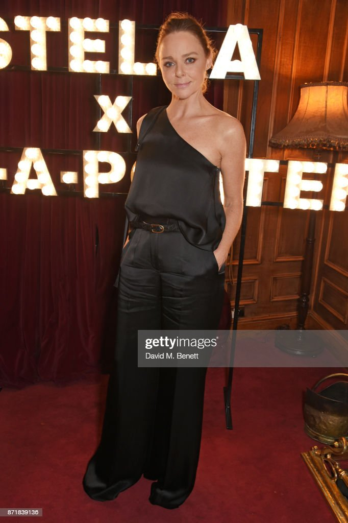 Stella McCartney attends a private dinner hosted by NET-A-PORTER and Stella McCartney to celebrate the launch of the Stella McCartney x NET-A-PORTER party capsule collection on November 8, 2017 in London, England.