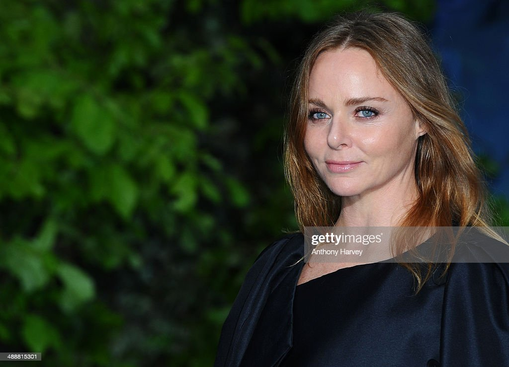Stella McCartney attends a private reception as costumes and props from Disney's 'Maleficent' are exhibited in support of Great Ormond Street Hospital at Kensington Palace on May 8, 2014 in London, England.