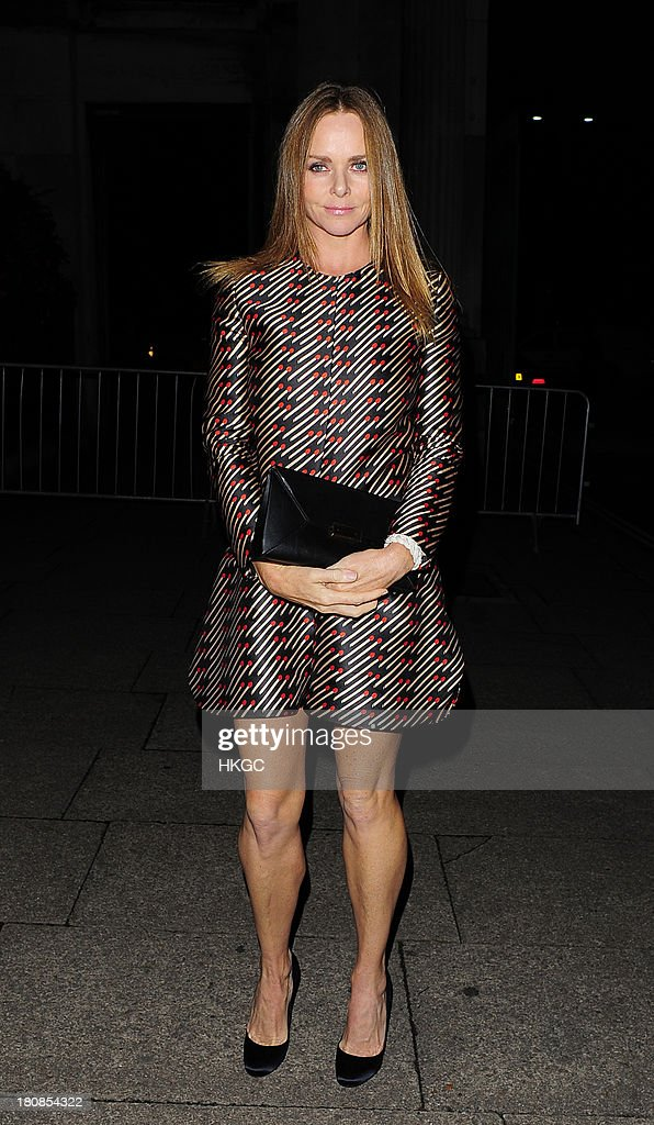 Stella McCartney attends an evening to celebrate The Global Fund hosted by the Earl and Countess of Mornington, Anna Wintour, Livia Firth and Natalie Massenet at Apsley House on September 16, 2013 in London, England.