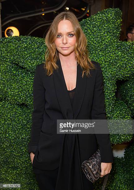 Stella McCartney attends an interview with Imran Amed of The Business of Fashion on March 25 2015 in London England