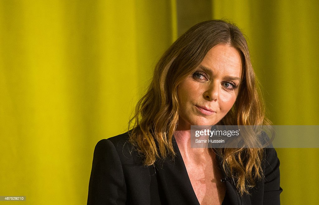 Stella McCartney attends an interview with Imran Amed of The Business of Fashion on March 25, 2015 in London, England.