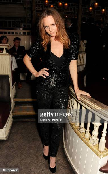 Stella McCartney attends Fran Cutler's surprise birthday party supported by ABSOLUT Elyx at The Box Soho on April 30 2013 in London England