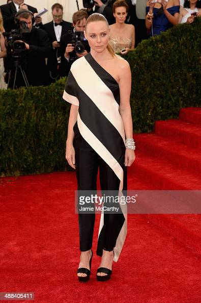 Stella McCartney attends the 'Charles James Beyond Fashion' Costume Institute Gala at the Metropolitan Museum of Art on May 5 2014 in New York City
