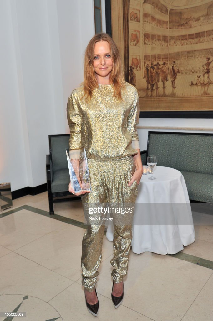 Stella McCartney attends the Harper's Bazaar Woman of the Year Awards at Claridge's Hotel on October 31, 2012 in London, England.