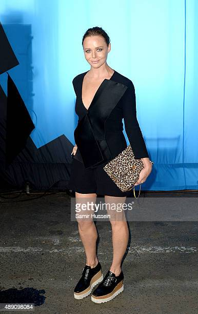 Stella McCartney attends the Hunter show during London Fashion Week Spring/Summer 2016/17 on September 19 2015 in London England