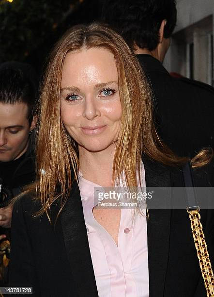 Stella McCartney attends the launch of Mary McCartney's cook book 'FOOD by Mary McCartney' at Liberty on May 3 2012 in London England