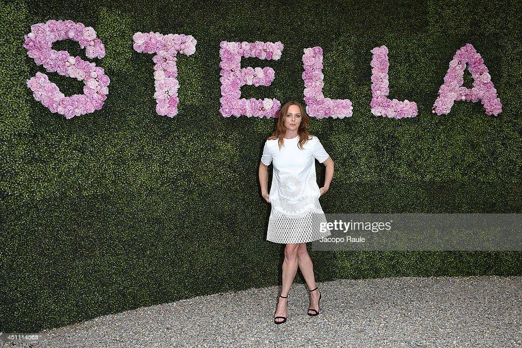 Stella McCartney Garden Party Arrivals - Milan Fashion Week Menswear Spring/Summer 2015
