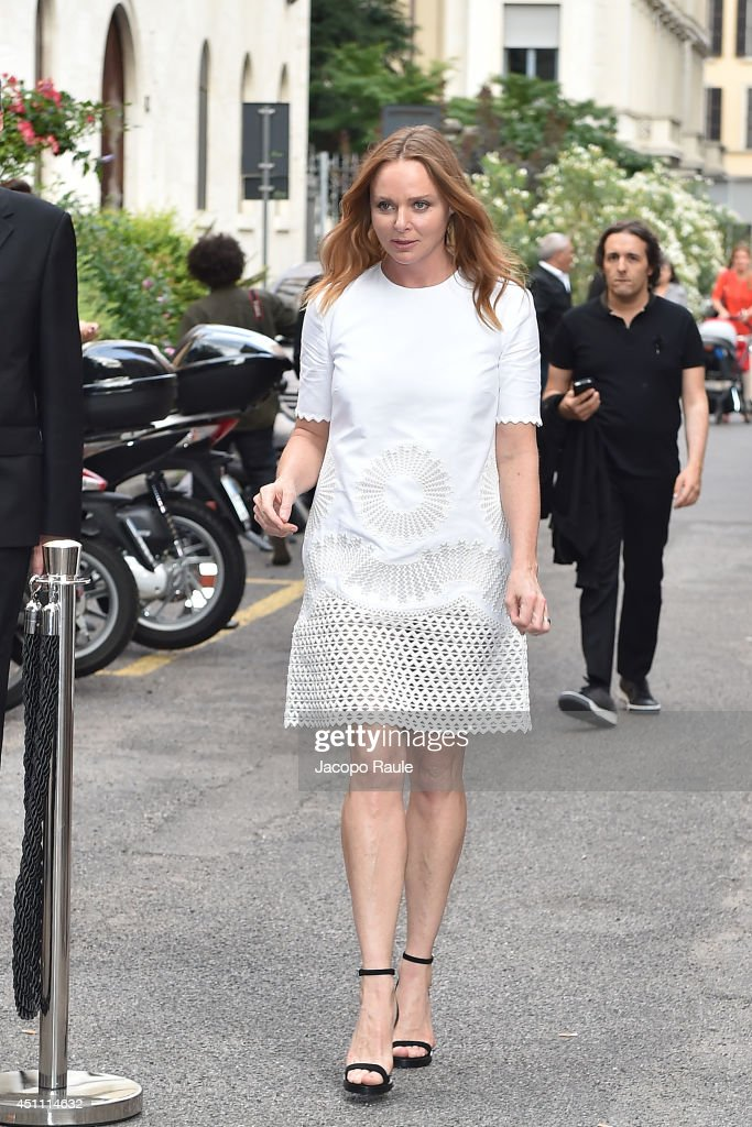 Stella McCartney attends the Stella McCartney Garden Party during the Milan Fashion Week Menswear Spring/Summer 2015 on June 23, 2014 in Milan, Italy.