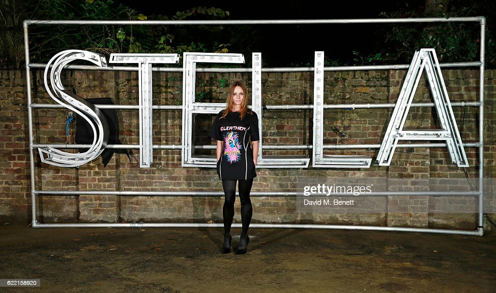 Stella McCartney attends the Stella McCartney Menswear launch and Women's Spring 2017 collection presentation at Abbey Road Studios on November 10, 2016 in London, England.