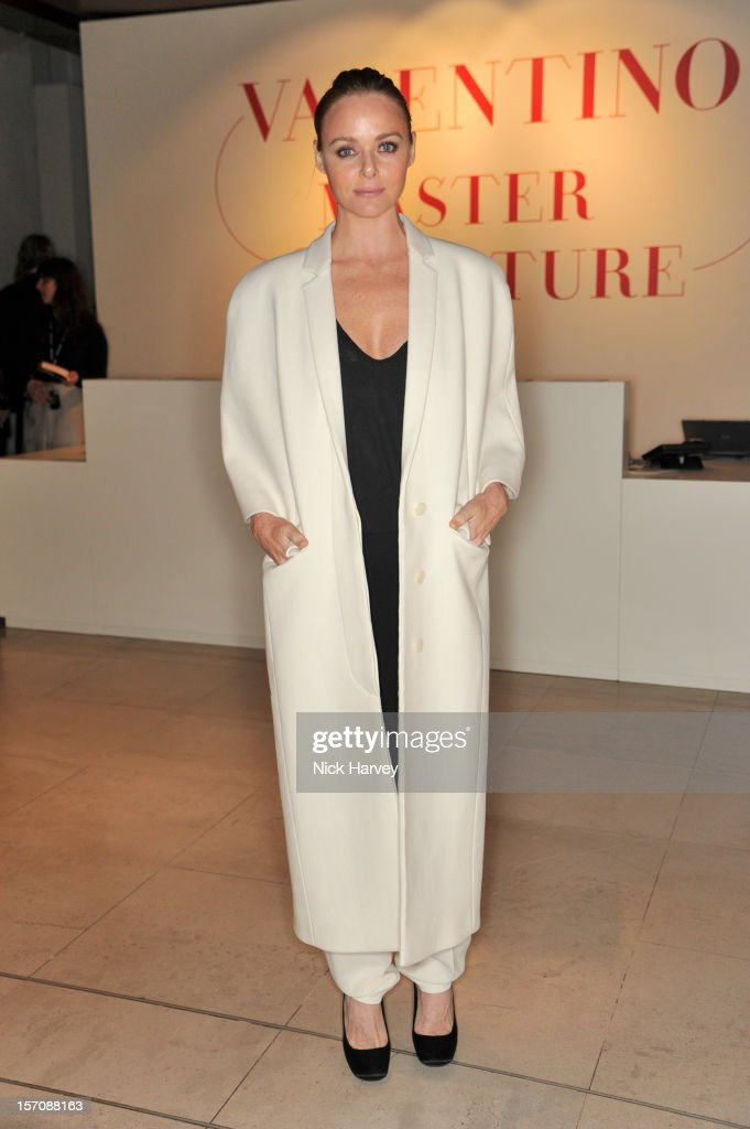 Stella Mccartney attends the VIP view of Valentino: Master of Couture at Embankment Gallery on November 28, 2012 in London, England.