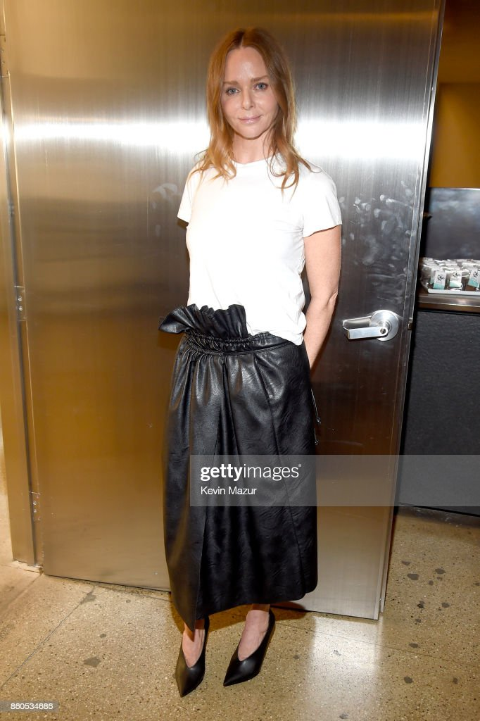 Stella McCartney attends Vogue's Forces of Fashion Conference at Milk Studios on October 12, 2017 in New York City.