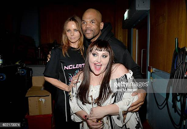 Stella McCartney Darryl McDaniels and Beth Ditto attend the Stella McCartney Menswear Launch and Women's Spring 2017 Collection Presentation at Abbey...