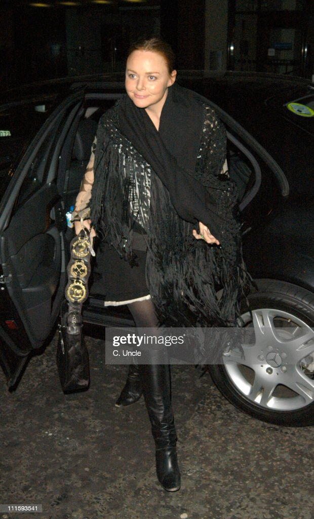 Stella McCartney during Robert Crumb T-Shirt Launch Party at Stella McCartney Shop in London, Great Britain.