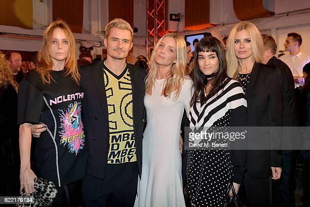 Stella McCartney Orlando Bloom Annabelle Wallis Sofia Boutella and Laura Bailey attend the Stella McCartney Menswear Launch and Women's Spring 2017...