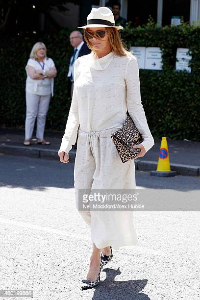 Stella McCartney seen arriving at Wimbledon on July 10 2015 in London England Photo by Neil Mockford/Alex Huckle/GC Images