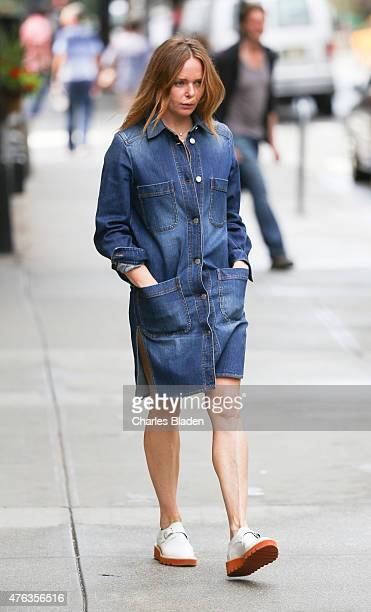 Stella McCartney seen walking in Tribeca on June 3 2015 in New York City
