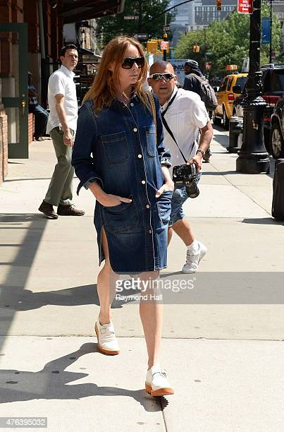 Stella McCartney seen walking in Tribeca on June 8 2015 in New York City