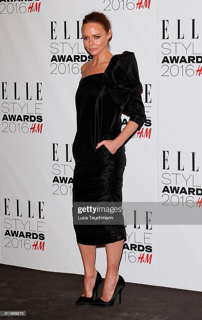 Stella Mccartneyattends The Elle Style Awards 2016 on February 23, 2016 in London, England.