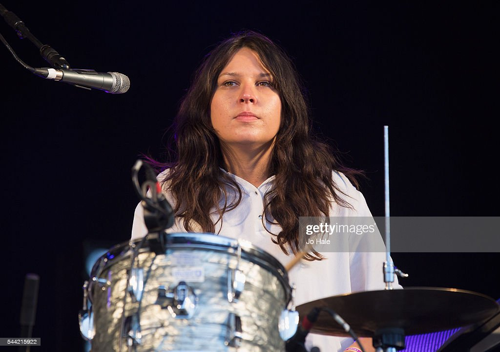 Stella Mozgawa of Warpaint performs as part of Barclaycard Presents British Summer Time Hyde Park Day 1 at Hyde Park on July 1 2016 in London England