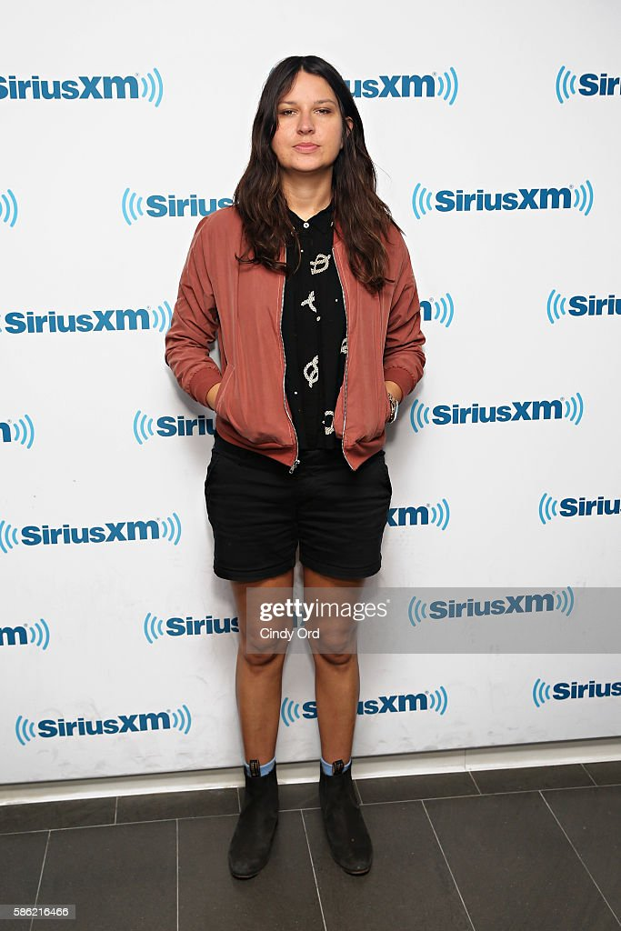 Stella Mozgawa of Warpaint visits the SiriusXM Studios on August 5 2016 in New York City