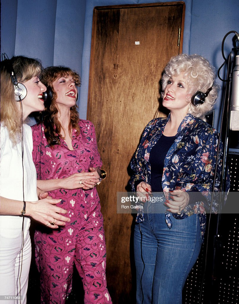 Stella Parton, Frieda Parton and Dolly Parton at the Bearsville Studios in North Hollywood, CA