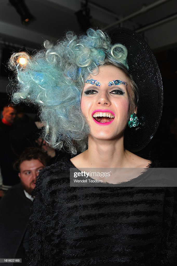 Stella Rose attends The Blonds during Fall 2013 MADE Fashion Week at Milk Studios on February 12, 2013 in New York City.