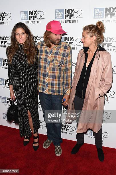 Stella Schnabel Evan Dando and Laure de ClermontTonnerre attend the 'Heaven Knows What' premiere during the 52nd New York Film Festival at Alice...
