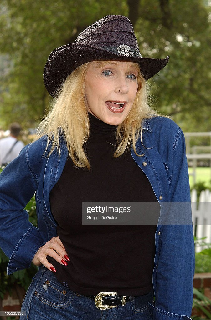 <a gi-track='captionPersonalityLinkClicked' href=/galleries/search?phrase=Stella+Stevens&family=editorial&specificpeople=214015 ng-click='$event.stopPropagation()'>Stella Stevens</a> during Wildlife Waystation Presents The 8th Annual Safari Brunch at Private Home in Pasadena, California, United States.