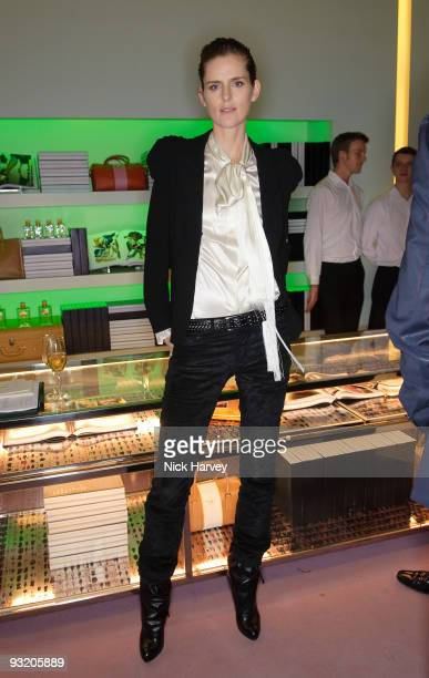 Stella Tennant attends party to celebrate launch of new Prada book on November 18 2009 in London England