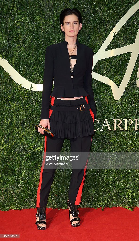 <a gi-track='captionPersonalityLinkClicked' href=/galleries/search?phrase=Stella+Tennant&family=editorial&specificpeople=758696 ng-click='$event.stopPropagation()'>Stella Tennant</a> attends the British Fashion Awards 2013 at London Coliseum on December 2, 2013 in London, England.