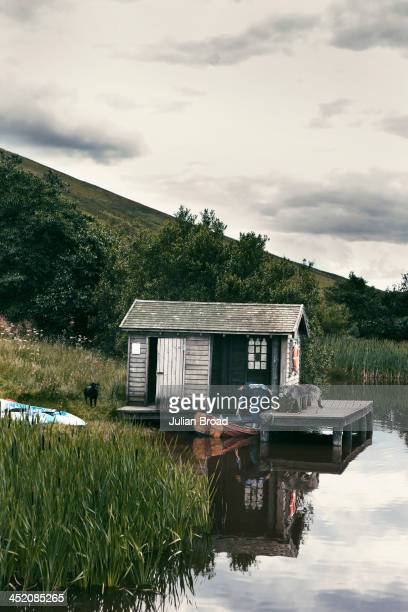 Stella Tennant Stella Tennant at the boathouse on Loch Roughley near her parents' farm Photographed for the New York Times Style Magazine on August 8...